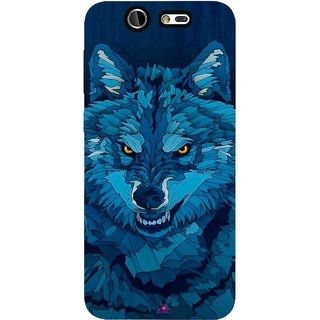 Snooky Printed 1089,southside festival wolf Mobile Back Cover of LYF Earth 2 - Multi