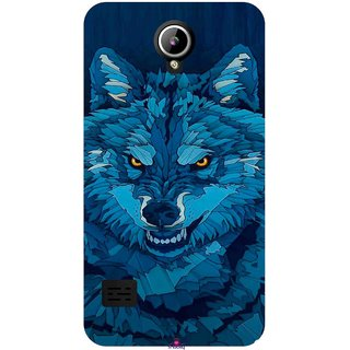 Snooky Printed 1089,southside festival wolf Mobile Back Cover of LYF Flame 2 - Multi