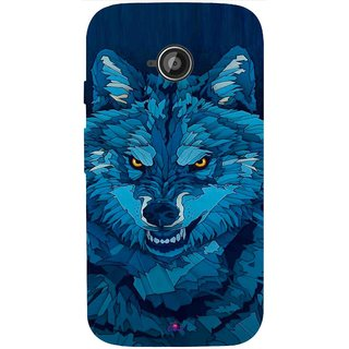 Snooky Printed 1089,southside festival wolf Mobile Back Cover of Motorola Moto E2 - Multi