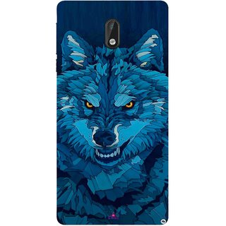 Snooky Printed 1089,southside festival wolf Mobile Back Cover of Nokia 3 - Multi