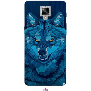 Snooky Printed 1089,southside festival wolf Mobile Back Cover of OnePlus 3 - Multi