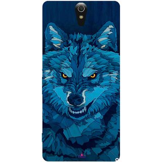 Snooky Printed 1089,southside festival wolf Mobile Back Cover of Sony Xperia C5 - Multi
