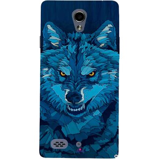 Snooky Printed 1089,southside festival wolf Mobile Back Cover of Oppo Joy 3 - Multi