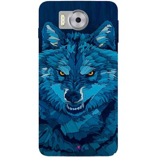 Snooky Printed 1089,southside festival wolf Mobile Back Cover of Panasonic Eluga Note - Multi
