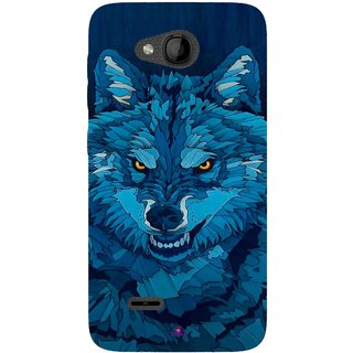 Snooky Printed 1089,southside festival wolf Mobile Back Cover of Panasonic Love T35 - Multi