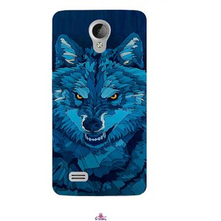 Snooky Printed 1089,southside festival wolf Mobile Back Cover of Vivo Y21 - Multi