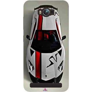 Snooky Printed 1091,sports cars and bikes Mobile Back Cover of Asus Zenfone Max - Multi