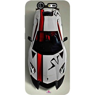Snooky Printed 1091,sports cars and bikes Mobile Back Cover of LYF Earth 2 - Multi