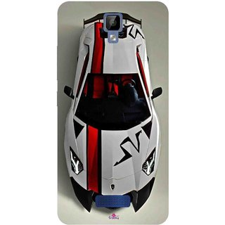 Snooky Printed 1091,sports cars and bikes Mobile Back Cover of Gionee P7 Max - Multi