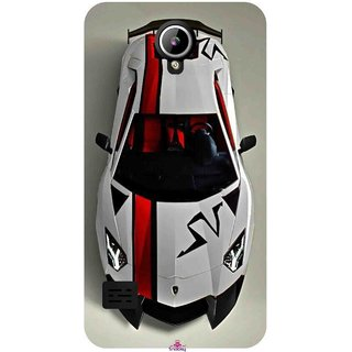 Snooky Printed 1091,sports cars and bikes Mobile Back Cover of LYF Flame 2 - Multi