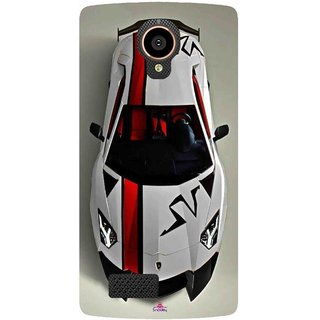 Snooky Printed 1091,sports cars and bikes Mobile Back Cover of LYF Flame 7 - Multi