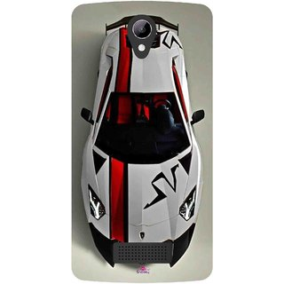 Snooky Printed 1091,sports cars and bikes Mobile Back Cover of LYF Wind 3 - Multi