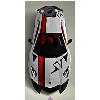 Snooky Printed 1091,sports cars and bikes Mobile Back Cover of LYF Wind 4 - Multi
