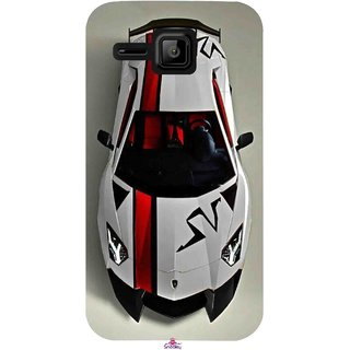 Snooky Printed 1091,sports cars and bikes Mobile Back Cover of Micromax Bolt S301 - Multi