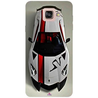 Snooky Printed 1091,sports cars and bikes Mobile Back Cover of Samsung Galaxy A7 2016 - Multi