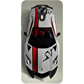 Snooky Printed 1091,sports cars and bikes Mobile Back Cover of Micromax Canvas Express 2 E313 - Multi