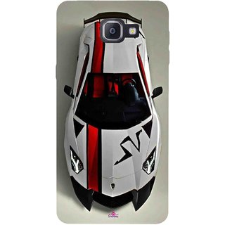 Snooky Printed 1091,sports cars and bikes Mobile Back Cover of Samsung Galaxy A9 Pro - Multi