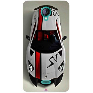 Snooky Printed 1091,sports cars and bikes Mobile Back Cover of Micromax Canvas Unite 2 - Multi