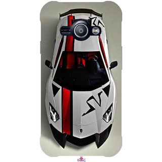 Snooky Printed 1091,sports cars and bikes Mobile Back Cover of Samsung Galaxy Ace J1 - Multi
