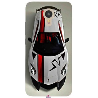 Snooky Printed 1091,sports cars and bikes Mobile Back Cover of Micromax YU Yunicorn - Multi