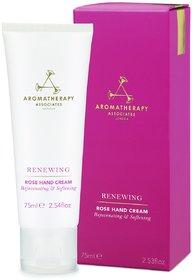 Aromatherapy Associates Renewing Rose Hand Cream(75ml)