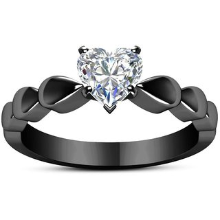 Stylish Heart Vintage Designer Adjustable Ring For Women  Girls