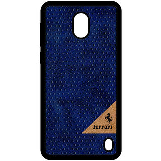Cellmate Leather   Back Cover for Nokia 2 - Blue