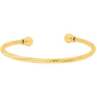 aea55770c520c Dare by Voylla Men's Cuff Bracelet in Twisted Pattern