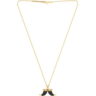 053d2a0a6f6 Buy Dare by Voylla Horn Designer Pendant With Chain For Men Online - Get 54%  Off