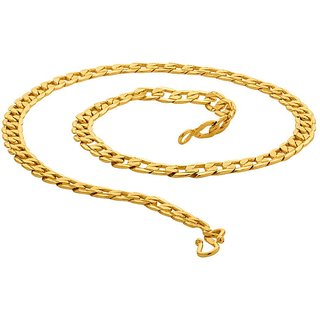 Dare by Voylla Bold Gold Plated Linking Laureate Chain