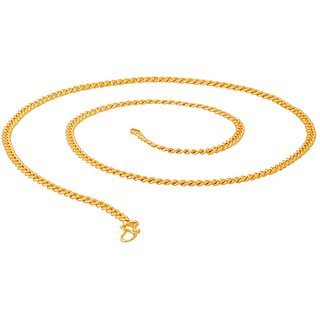 Dare by Voylla Shiny Gold Plated Link Chain For Men