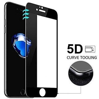 iphone 6+ 5D Tempered Glass For Iphone 6 Plus- Black 5D Premium High Quality 5D Tempered Glass For Iphone 6 Plus- Black