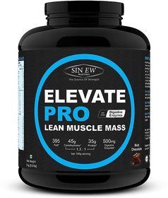Sinew Nutrition Elevate PRO Lean Muscle Mass Gainer Pro - 136955507