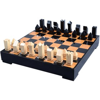 Cerasus Chess Board Big in Exclusive Walnut Color with High Gloss Finish (BOG 062A)