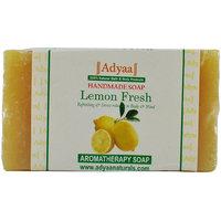 Adyaa Naturals Lemon Fresh Natural Handmade Soap