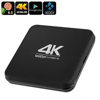 Leoxsys LT33BR2-4K Android  4K OTT Box solution with Android  6.0 Marshmallow OS with 28nm Quad core