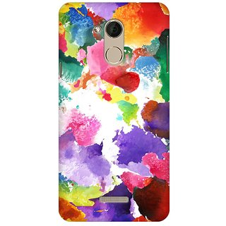 Mobicture Abstract Design Premium Printed High Quality Polycarbonate Hard Back Case Cover For Coolpad Note 5 With Edge To Edge Printing