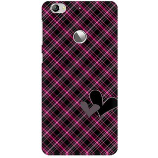 Mobicture Plaid Pattern Premium Printed High Quality Polycarbonate Hard Back Case Cover For LeEco Le 1s With Edge To Edge Printing