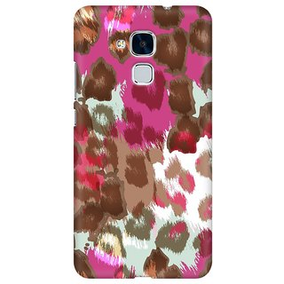 Mobicture Abstract Design Premium Printed High Quality Polycarbonate Hard Back Case Cover For Huawei Honor 5c With Edge To Edge Printing