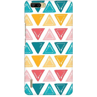Mobicture Abstract Design Premium Printed High Quality Polycarbonate Hard Back Case Cover For Huawei Honor 6 Plus With Edge To Edge Printing