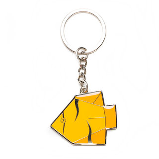 Daffodils The Yellow Fish Key Chain (Yellow, Orange) D90