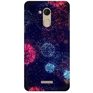 Mobicture Lightning Crackers Premium Printed High Quality Polycarbonate Hard Back Case Cover For Coolpad Note 5 With Edge To Edge Printing