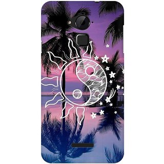 Mobicture Abstract Scenery Premium Printed High Quality Polycarbonate Hard Back Case Cover For Coolpad Note 3 With Edge To Edge Printing