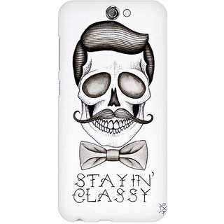 Mobicture Stay Classy Premium Printed High Quality Polycarbonate Hard Back Case Cover For HTC One A9 With Edge To Edge Printing