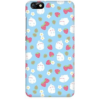 Mobicture Cute Toon Premium Printed High Quality Polycarbonate Hard Back Case Cover For Huawei Honor 4X With Edge To Edge Printing