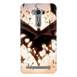 Mobicture Dark Knight Premium Printed High Quality Polycarbonate Hard Back Case Cover For Asus Zenfone 2 Laser ZE550KL With Edge To Edge Printing
