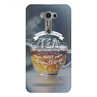 Mobicture Tea Love Premium Printed High Quality Polycarbonate Hard Back Case Cover For Asus Zenfone 2 Laser ZE550KL With Edge To Edge Printing