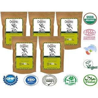 Radico Organic Henna Powder - 100g (Set of 5)
