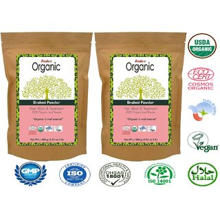 Radico Natural Brahmi Powder - 100g (Set of 2)