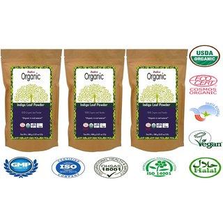 Radico Colour Me Organic Indigo Powder - 100G (Set Of 3)